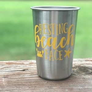 🔆 Resting Beach Face Cup 🔆